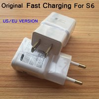 Wholesale 2016 Original White V A US EU Plug Fast Wall Home Charger Adapter For Samsung Galaxy Note S5 S4 S5 S6 A7 A9 for iPhone7