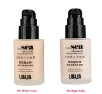 Wholesale 2016 UBUB Face Liquid Foundation BB Cream Shaking Waterproof BB Cream Cosmetic Makeup Tool top quality fast dhl