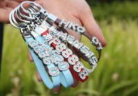 Wholesale New Listing DIY Car Keychains Personalized Key Rings Don t Include Slide Letters Charms