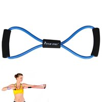 Wholesale new fitness training figure type Hand Gripper Strengths exercise tube yoga blue for and kylin sport