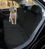 bench seat cover black - Pet Rear Back Waterproof Seat Cover Dog Car Protector SUV Auto Bench Mat Black