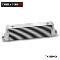 Wholesale TANSKY NEW H G x180x65mm UNIVERSAL FRONT MOUNT TURBO INTERCOOLER For Honda Civic Nissan Toyota TK INT006