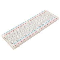 aluminum breadboard - For Arduino Solderless MB102 MB Breadboard Tie Point PCB BreadBoard G00193 bar