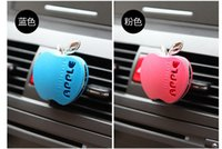 Wholesale 30PCS NEW Car Air Freshener For Apple Shape cm Mix color auto perfume car air freshener