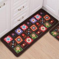 Wholesale Hot Sales Indoor Doormat Room Balcony Door Mats Floor Non Slip Area Rug Home Printed Kitchen Carpet Tapete Para Quarto JI0118