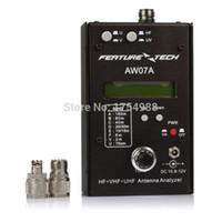 Wholesale Antenna Analyzer HAM Radio shortwave radio HF UV talkie radio hand sets multiband antenna analyzer AW07A MHZ