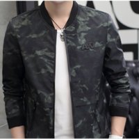 best camouflage clothing - 2016 Best Selling Spring Autumn New Fashion Men Stand Collar Coat Teenagers Print Slim Jacket Camouflage Clothing Long Sleeve L6