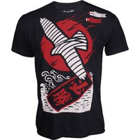Wholesale High quality Muay Thai T shirt MMA Fight Fighting Fitness dedicated