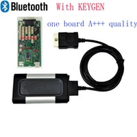 Cheap Wholesale-Quality A+++ one Single green board CDP Pro 2015 Plus with Keygen with bluetooth for auto car and truck OBD2 Diagnostic Scaner