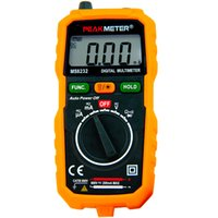Wholesale PEAKMETER MS8232 Smart Mini Auto Digital Multimeter Orange MINI Tester