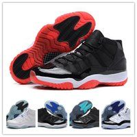 Wholesale Cheap Band Shoes - Cheap Retro (11)XI Bred Concord Gamma Legend Blue Basketball Shoes Athletics Sports Shoes Discount Sports Women Mens Basketball Shoes