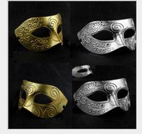 ancient war - Adult Halloween mask dance party Man mask Roman restoring ancient ways The Greek god of war mask
