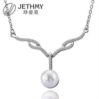 accessories crucifixes - Elegant Fashion Ma am Pearl Accessories Clavicle Fully jewelled Necklace Hip Hop Jade Druzy Necklaces Pendants Crucifix Cross Jewelry
