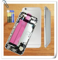 Wholesale good quality for iPhone battery Back Cover Full Housing Assembly with Cables and Small Parts
