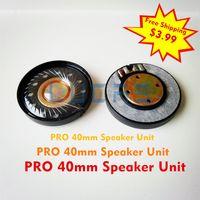 acoustic studios - headphones speaker unit super big Microphone for headphones Studio Pro mm Hifi Earphones Diy earphone Acoustic Components