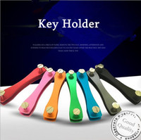 Wholesale Drop Shipping Creative Gifts Popular Keyholder Hard Oxide Aluminum Clip Organizer Car Key Collector Case housekeeper Keychains Keys Holder