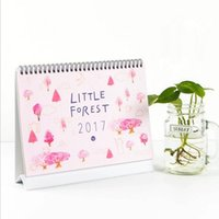 Wholesale quot Little Forest quot Table Desk Calendar Big Size Cute Scheduler Agenda Monthly Planner Diary Checklist Memo Notebook To Do List Gift