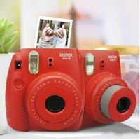 Wholesale New Hot Film Camera Instax Mini Instant Film Photo Polaroid Camera Pink Blue Black Yellow White Instant Camera Using Instax Mini Film