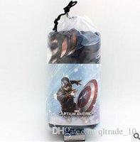 automotive fabrics - New Arrivals Frozenl Sophia spider man Captain America Automotive air conditioning blanket comfortable Blanket Cartoon Blankets LJJH61