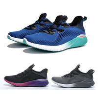 ash laces - Alphabounce Shoes MULTI AQ8215 Men s and Women s Boost ash Running shoes core black solar gold Sneaker