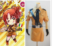 anime north - Axis Powers Hetalia Cosplay Nyotalia North Italy Female Costume