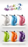 Wholesale Travel Necessary Convenient V W New Handheld Mini Household Steam Electric Iron And Steam face device ZW