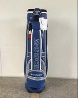Wholesale New MU golf bags colors Mens top quality PU golf bag Ems ship
