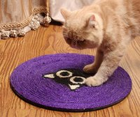 Wholesale 39CM Cartoon Cat Scratch Board Cat Claws Grinding Board Promotion Pet Scratcher Toy