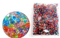 al por mayor nerf-10000PCS suave de cristal del color de la bala del arma de agua Paintball bala Orbeez pistola de juguete Nerf esponjoso A presión más Pisol
