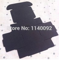 Wholesale a black matte paperboard box cosmetics gift packing box Handmade Soap ornament packing box
