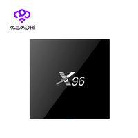 Wholesale 10PCS X96 G G Amlogic S905X Quad Core Android TV Box HDMI A K K Kodi Netflix YouTube Marshmallow Media Player Set top box