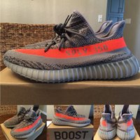 Wholesale With Original Box v2 SPLY Boost V2 Boost V2 Beluga BB1826 grey Men and Women Shoes Sport Running Kids shoes