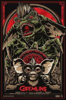 alternative single - A702 Gremlins Alternative Movie Art Silk Poster x36inch