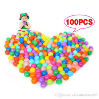 Wholesale 100Pcs Colorful Ball Ocean Balls Soft Plastic Ocean Ball Baby Kid Swim Pit Toy High Quality