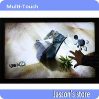 Wholesale High Quality quot Points Dual Touch IR Multi Touch Overlay Kit without Glass For Touch Monitor Interactive Kiosk