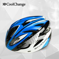 Wholesale CoolChange ride the bike helmet and road mountain bike men and women over the helmet integrated riding bike helmet equipped