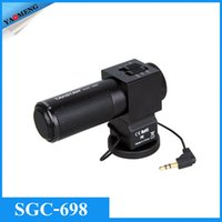 Wholesale TAKSTAR SGC Photography Interview Recording Microphones MIC for Nikon Canon Camera DSLR DV Camcorder