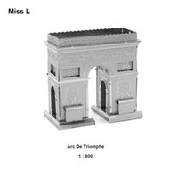 arch metal buildings - Kids Toys Metal Model Jigsaw D Puzzle Triumphal Arch Gadget Mind Game