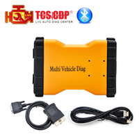 Cheap Wholesale-2016 New arrival MVD Multi Vehicle Diag Bluetooth 2016.R3 sfotware TCS CDP+ OBD2 cars trucks Diagnostic Tool Free Shipping