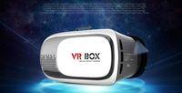 Wholesale 2016 Google Cardboard VR BOX II Version VR Virtual Reality Glasses Smart Bluetooth Wireless Mouse Remote Control Gamepad