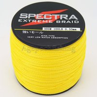 Wholesale 5pcs Spectra fishing line300M LB STRANDS seven colors can be choose