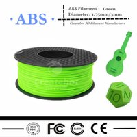 Cheap Createbot 3D Printer ABS Filament 1.75MM 3MM 1kg Factory Price Flexible and Environmental 3d printer Material
