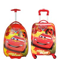 Wholesale Lowst Price inch egg shaped Cartoon Kids Rolling Luggage Children Pull rod Suitcase Children drag me Travel Bag