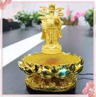 Wholesale 1 dhl free magnetic new k gold floating levitating buddha display racks mangetic buddhist display stands