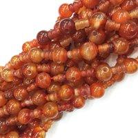 Wholesale mm x8mm Natural Red Agate Tibet Guru Gemstone Beads DIY Fashion Necklace bracelet
