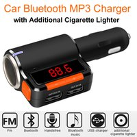 bc player - Bluetooth Car Kit FM Transmitter MP3 Player Wireless FM Radio Dual USB Charger Handsfree Phone Call with LED Display Cigarette Lighter BC