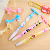 art scooter - 20pcs Ballpoint Pens Cute Scooter Shape Ball Point Students Pen Stationery Kid Gift Toy School Supplies Fashion Kid Gifts