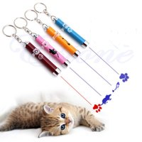 Wholesale Colorful Funny LED Cat Training Pointer Cat Playing Toy Projector Torch CT001