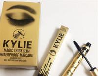 best magic eye - The best new Kylie Jenner Mascara Magic thick waterproof mascara Black Eye Mascara Long Eyelash Charming eyes Cosmetic Gold Birthday Package