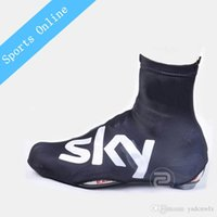 Wholesale 2016 High Quality Winter team sky waterproof Cycling Shoe Covers Bicycle MTB Bike Shoe Covers Cycling Zippered Overshoes